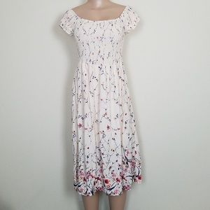 Bleuh Ciel Midi Dress